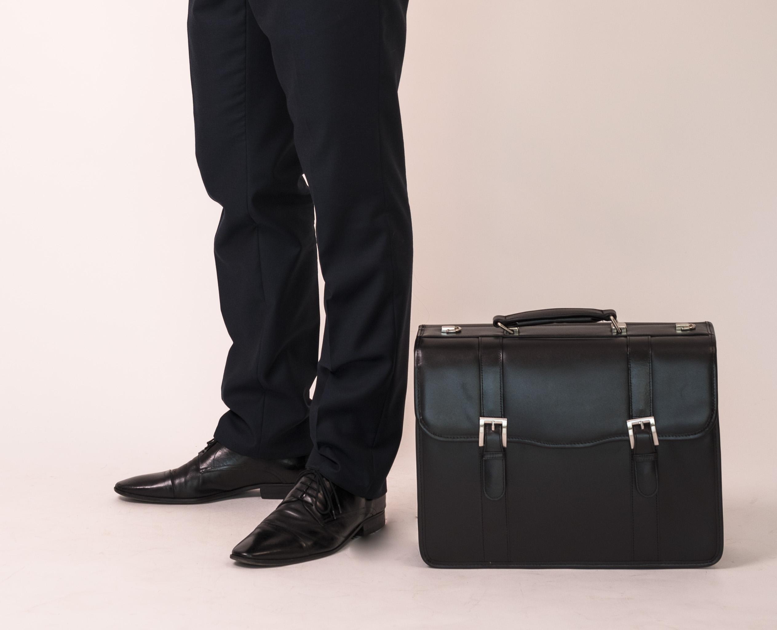 Teczka dla prawnika w kolorze czarnym